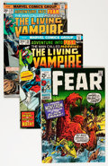 Bronze Age (1970-1979):Horror, Fear Group (Marvel, 1970-75) Condition: Average VF.... (Total: 12Comic Books)
