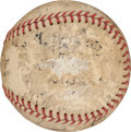 Autographs:Baseballs, 1934 Boston Braves Team Signed Baseball....