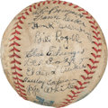 Autographs:Baseballs, 1934 Detroit Tigers Team Signed Baseball....