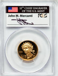 Modern Issues, 1988-W G$5 Olympic Gold Five Dollar PR69 Deep Cameo PCGS. Ex:Signature of John M. Mercanti, 12th Chief Engraver of the U.S...