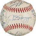 Baseball Collectibles:Balls, 1949 New York Yankees Team Signed Baseball. ...