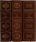 Books:Literature 1900-up, William Shakespeare. Group of Three. Complete works in threevolumes, the Comedies, the Tragedies, the Histories...(Total: 3 Items)