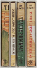 Books:Mystery & Detective Fiction, Ian Fleming. Group of Four. Facsimile Editions. First EditionLibrary. Slight shelfwear on slipcases. One shrink wrapped. Ti...(Total: 4 Items)