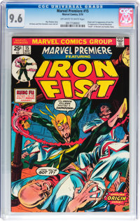 Marvel Premiere #15 Iron Fist (Marvel, 1974) CGC NM+ 9.6 Off-white to white pages