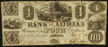 Obsoletes By State:Michigan, Adrian, MI- The Bank of Adrian $4 Nov. 1, 1841 G8a Lee ADR-1-8. ...