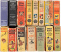 Big Little Book:Miscellaneous, Mickey Mouse Related and Others Big Little Book Group (Whitman,1930s) Condition: Average FR/GD.... (Total: 15 Comic Books)
