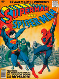 Modern Age (1980-Present):Superhero, Marvel Treasury Edition #28 Superman and Spider-Man (Marvel, 1981)Condition: NM....