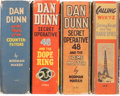 Big Little Book:Miscellaneous, Big Little Book Dan Dunn Related Group (Whitman, 1930s-40s)Condition: Average VF-.... (Total: 4 Comic Books)