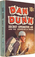 Big Little Book:Adventure, Big Little Book #nn Dan Dunn and the Zeppelin of Doom (Whitman,1938) Condition: FN+....