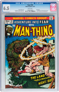 Fear #19 CGC-Graded Group (Marvel, 1973).... (Total: 5 Comic Books)