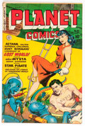 Golden Age (1938-1955):Science Fiction, Planet Comics #62 (Fiction House, 1949) Condition: GD/VG....
