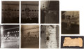 Baseball Collectibles:Others, Early 1930's Babe Ruth Glass Plate Negatives Lot of 6....