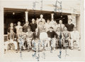 Autographs:Photos, 1931 Tour of Japan Team Signed Photograph with Gehrig, Grove....