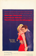 """Movie Posters:Romance, The Prince and the Showgirl (Warner Brothers, 1957). Window Card(14"""" X 22"""").. ..."""