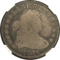 Early Quarters, 1804 25C Good 4 NGC. B-1, R.3....