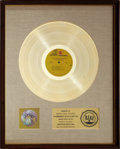 Music Memorabilia:Awards, The Jimi Hendrix Experience Are You Experienced? RIAA GoldRecord Award (1967). ...