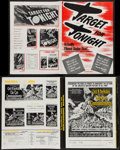 """Movie Posters:War, Target for Tonight & Others Lot (Warner Brothers, 1941).Pressbooks (10) (Multiple Pages, 11"""" X 15.25"""", 12"""" X 15"""", 11"""" X17""""... (Total: 10 Items)"""