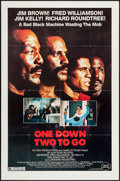 "Movie Posters:Blaxploitation, One Down, Two to Go (Almi Pictures, 1982). One Sheet (27"" X 41""). Blaxploitation.. ..."