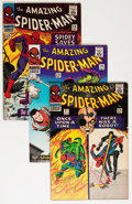 Silver Age (1956-1969):Superhero, The Amazing Spider-Man Group (Marvel, 1966-69) Condition: Average VG.... (Total: 32 Comic Books)