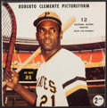 "Baseball Collectibles:Others, 1970's Roberto Clemente Pictureform ""12 Photos in Original PlasticPackaging""...."