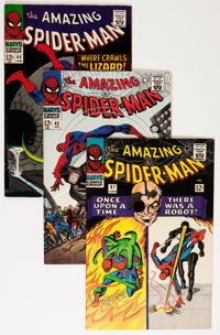 The Amazing Spider-Man Group (Marvel, 1966-69) Condition: Average VF.... (Total: 20 Comic Books)