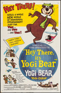 "Movie Posters:Animation, Hey There, It's Yogi Bear & Other Lot (Columbia, 1964). One Sheets (2) (27"" X 40"" & 27"" X 41"") SS & DS. Animation.. ... (Total: 2 Items)"