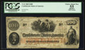 Confederate Notes:1862 Issues, T41 $100 1862 PF-25 Cr. 318A. ...
