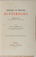 Books:Natural History Books & Prints, Rev. F. O. Morris. A History of British Butterflies. John C. Nimmo, 1895. Eighth edition. With 79 plates colored...