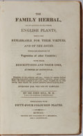 Books:Natural History Books & Prints, Sir John Hill. The Family Herbal, or an Account of All Those English Plants, Which are Remarkable for Their Virtues, and...