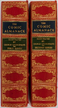 Books:Non-fiction, George Cruikshank, illustrator. The Comic Almanack: An Ephemerisin Jest and Earnest Containing Merry Tales, Humorous Po... (Total:2 Items)