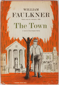 William Faulkner. The Town. Random House, 1957. First edition, first printing. Publisher's clot