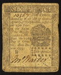 Colonial Notes:Pennsylvania, Pennsylvania October 25, 1775 6d Very Good-Fine.. ...