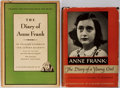 Books:Literature 1900-up, Anne Frank [subject]. Frances Goodrich and Albert Hackett. SIGNED.The Diary of Anne Frank. Random House, 1956. Firs... (Total:2 Items)