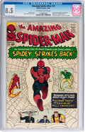 Silver Age (1956-1969):Superhero, The Amazing Spider-Man #19 (Marvel, 1964) CGC VF+ 8.5 Off-white to white pages....