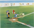 "Animation Art:Limited Edition Cel, ""Woody Gets a Hit"" Limited Edition Hand Painted Cel #100/200Original Art (Walter Lantz Productions, 1992). This hand painte...(Total: 3 Items)"