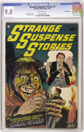 Golden Age (1938-1955):Horror, Strange Suspense Stories #5 Crowley Copy pedigree (Fawcett, 1953)CGC VF/NM 9.0 Off-white pages. Bernard Baily cover. George...