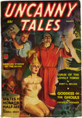 Pulps:Horror, Horror Pulp File Copy Group (Various, 1936-40). This group ofhorror pulps includes New Mystery Adventures March, 1936 (...