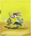 "Original Comic Art:Sketches, Whitman Tell-A-Tale Bugs Bunny Illustration Original Art, Group of 7 (Whitman, 1955).""'Eeek!' Petunia shrieked and pointed o... (Total: 7 items)"