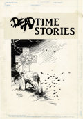 Original Comic Art:Splash Pages, Mike Mignola - Deadtime Stories #1 Page Original Art (New ComicsGroup, 1987). Seven years before Hellboy began his crusade ...