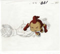 Animation Art:Production Cel, Big Guy and Rusty the Boy Robot Animation Production Cel andClean-Up Drawing Original Art, Group of 2 (Columbia/Tri-Star,199... (Total: 2 Items)