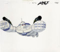 Animation Art:Production Cel, Big Guy and Rusty the Boy Robot Animation Production Cel andClean-Up Drawing Original Art, Group of 3 (Columbia/Tri-Star,199... (Total: 3 Items)
