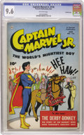 Golden Age (1938-1955):Superhero, Captain Marvel Jr. #110 Crowley Copy pedigree (Fawcett, 1952) CGC NM+ 9.6 Off-white pages. Overstreet 2006 NM- 9.2 value = $...
