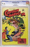 Golden Age (1938-1955):Superhero, Captain Marvel Jr. #90 Crowley Copy pedigree (Fawcett, 1950) CGC NM+ 9.6 Off-white pages. Mr. Atom appearance. Overstreet 20...