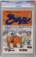 Silver Age (1956-1969):Alternative/Underground, Zap Comix #1 (Second Printing) (Apex Novelties, 1968) CGC VF/NM 9.0Cream to off-white pages. While there are earlier Underg...