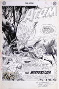 Original Comic Art:Splash Pages, Gil Kane and Sid Greene - The Atom #10, Splash Page 1 Original Art(DC, 1964). One of the top artists of the Silver Age, Gil...