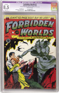 Golden Age (1938-1955):Science Fiction, Forbidden Worlds #1 (ACG, 1951) CGC Apparent VF+ 8.5 Slight (P)Off-white pages. Al WIlliamson and Frank Frazetta art. Ken B...