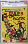 Golden Age (1938-1955):Western, Bobby Benson's B-Bar-B Riders #2 (Magazine Enterprises, 1950) CGC VF/NM 9.0 Off-white to white pages. Bob Powell cover and a...