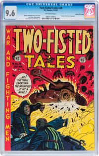 Two-Fisted Tales #28 Gaines File pedigree 2/10 (EC, 1952) CGC NM+ 9.6 Off-white pages