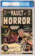 Golden Age (1938-1955):Horror, Vault of Horror #24 Gaines File pedigree 3/11 (EC, 1952) CGC NM+9.6 Off-white to white pages....