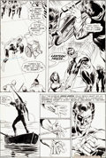 Original Comic Art:Panel Pages, Neal Adams and Bernie Wrightson Green Lantern #84 Page 20Original Art (DC, 1971)....